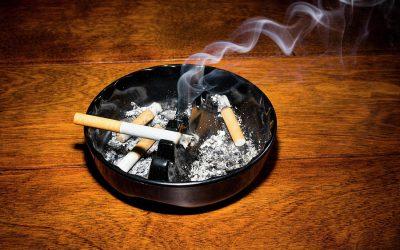 Дали знаете дека цигарата е штетна дури и откако ќе ја изгаснете во пепелникот?