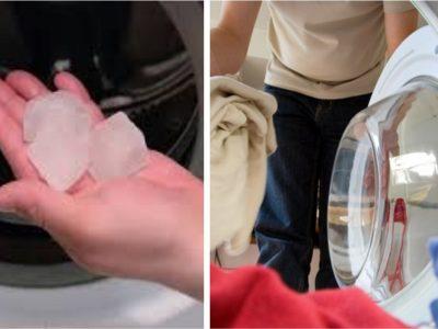 Таа секој ден става коцки мраз во машината за перење: Ова се 5-те најдобри трикови за перење и пеглање досега!