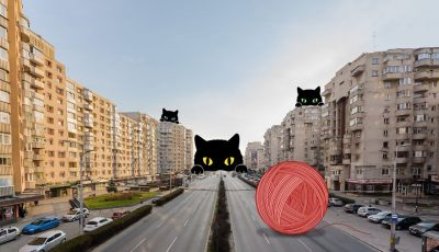 Романски илустратори прават уметнички дела од празните улици во градовите
