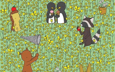 Загатка: Пронајдете ја пчелата меѓу цвеќињата