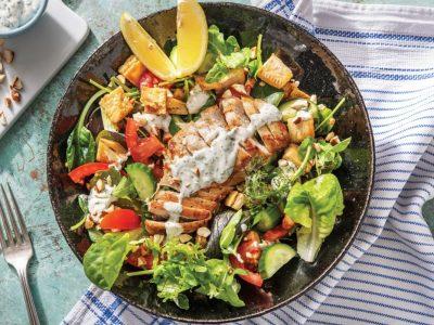 Одлична идеја за лесен ручек: Пилешки џепчиња со салата