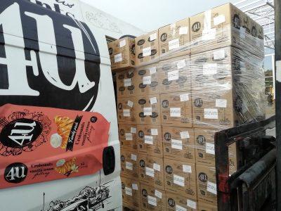 """Училиштето """"Нова"""" и фабриката """"Жито Пром"""" донираа заштитна опрема и храна за Инфективната клиника во Скопје и болницата во Гевгелија"""