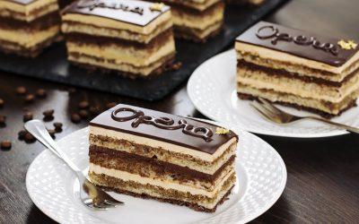 """Богата торта со бадеми: Торта """"Опера"""""""