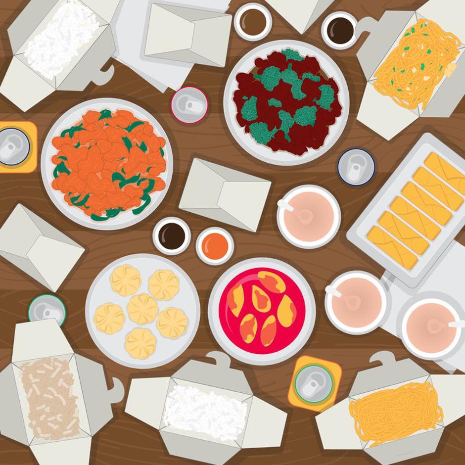 Оваа илустрација ќе ги измачи и оние со око соколово: Дали можете да ги најдете стапчињата за јадење?