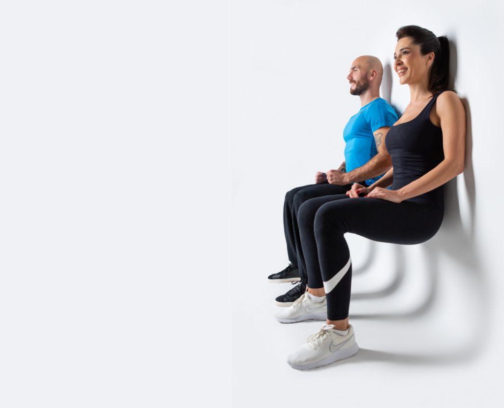 Вежбајте дома: Направете тренинг со ѕидот