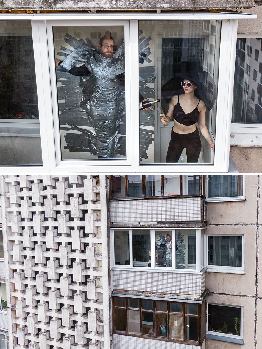 30 фотографии направени со дрон што ќе ви покажат како луѓето го поминуваат времето додека се во карантин