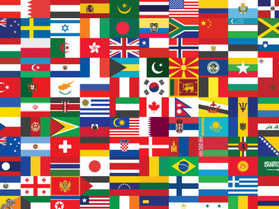 Загатка: Погодете на која земја припаѓаат овие знамиња