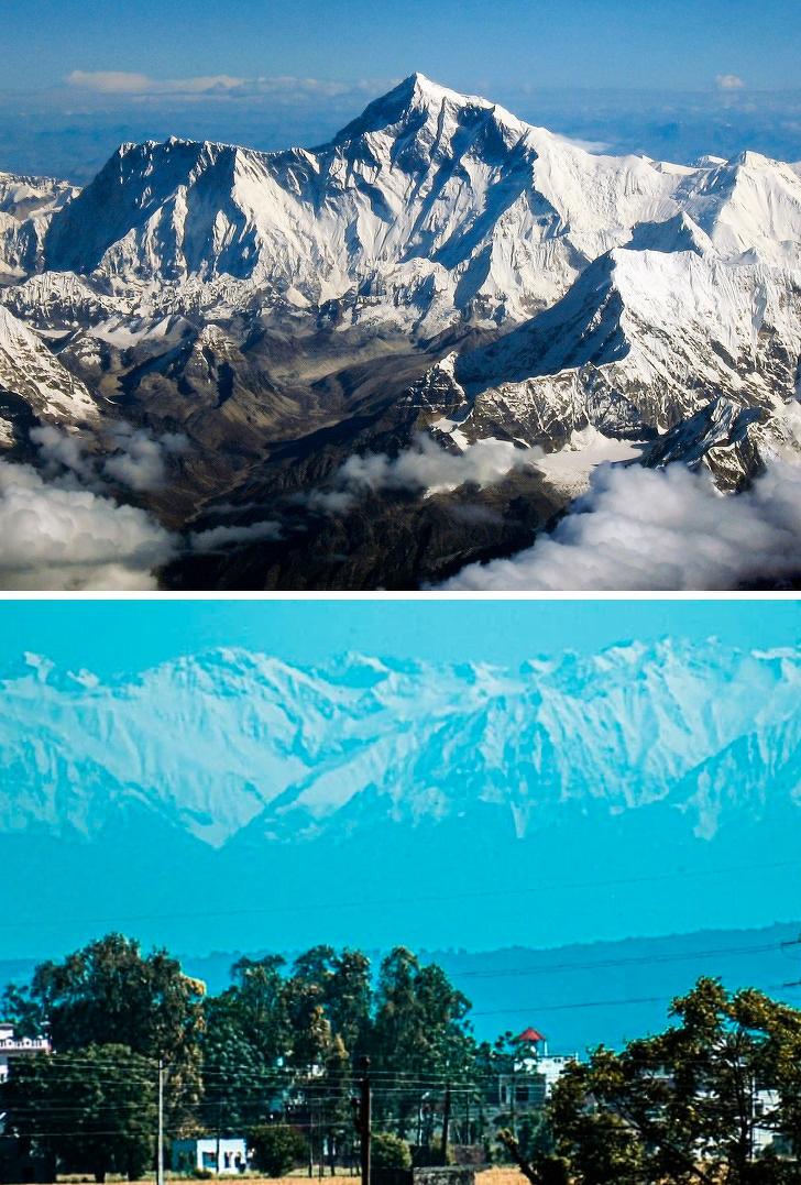 Хималаите се видливи за првпат по 30 години и уште 14 настани што се случуваат многу ретко