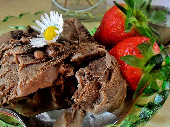 Домашен сладолед од чоколадо без јајца