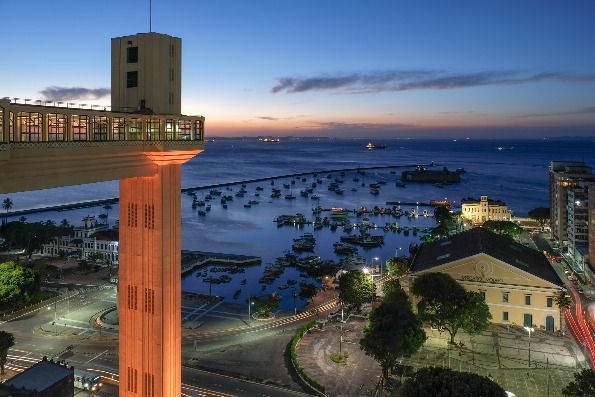 Во овој град наместо жичарница има лифт што го поврзува долниот со горниот град