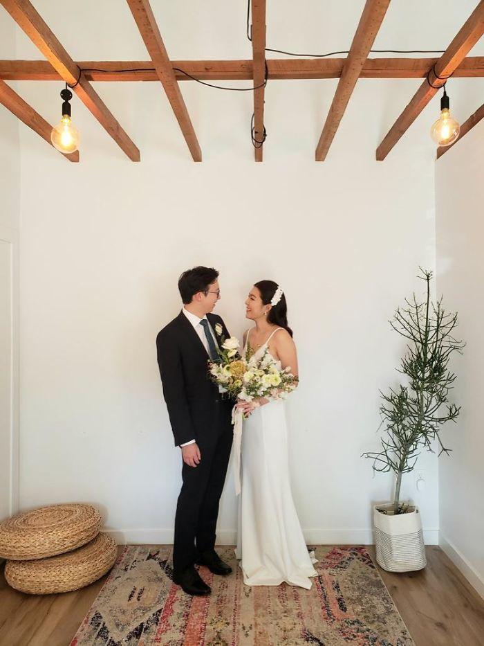 Фотографии од свадби за време на карантин