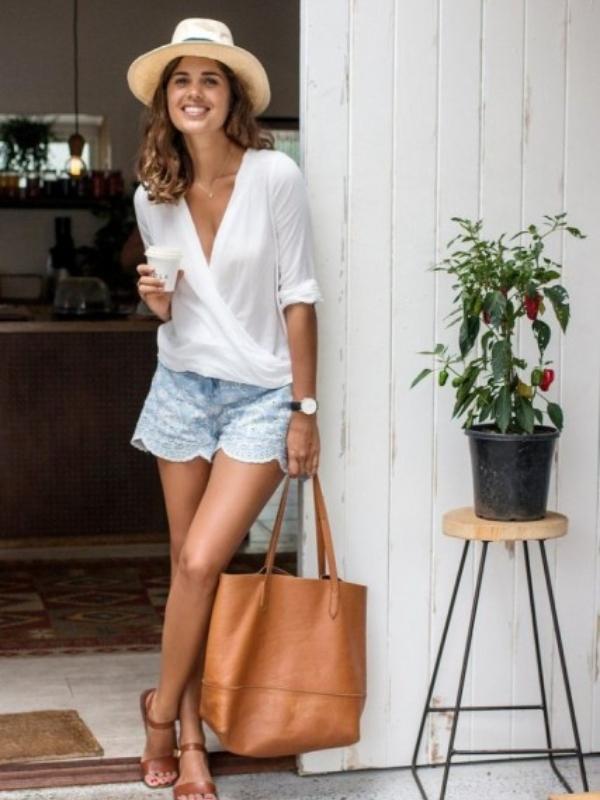 Модерни летни варијанти на кошули на преклоп