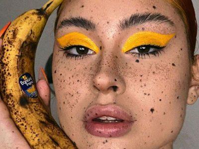 Банана шминка: Најновиот тренд во шминкањето
