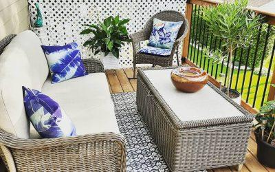 Идеи како да го претворите малиот двор или балкон во удобно место за релаксирање