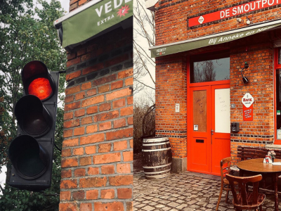 Кафич во Белгија со семафор за гостите