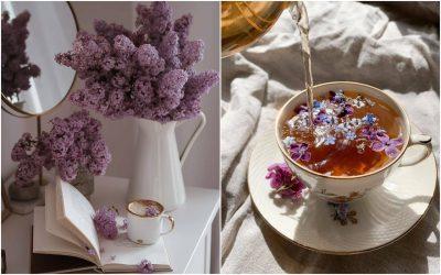 Најновиот тренд на Инстаграм: Цветен чај