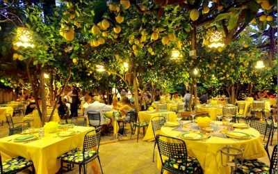 Овој прекрасен италијански ресторан е идеална локација за летните вечери