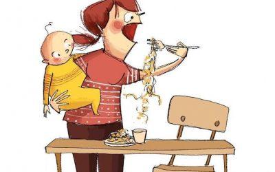 17 илустрации што покажуваат што значи да се биде мајка