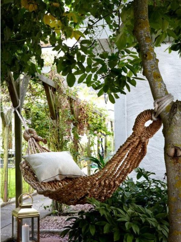Најудобните нишалки што можете да ги поставите во вашата градина