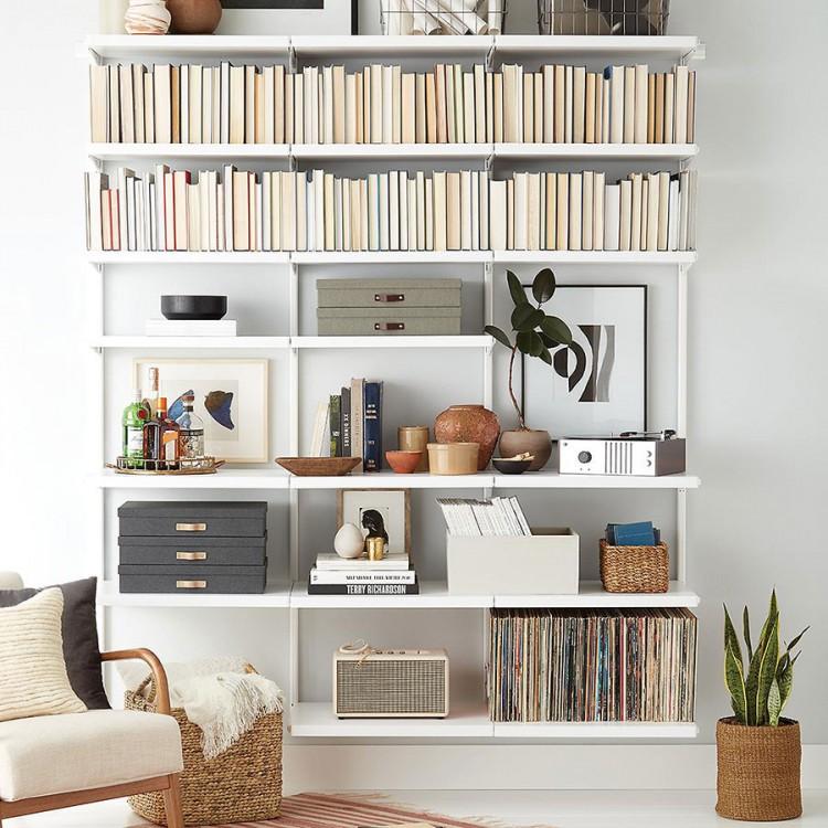 Како да ги освежите полиците за книги во вашиот дом?