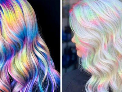 Холографската коса е нов тренд за секој што сака да ги нагласи промените