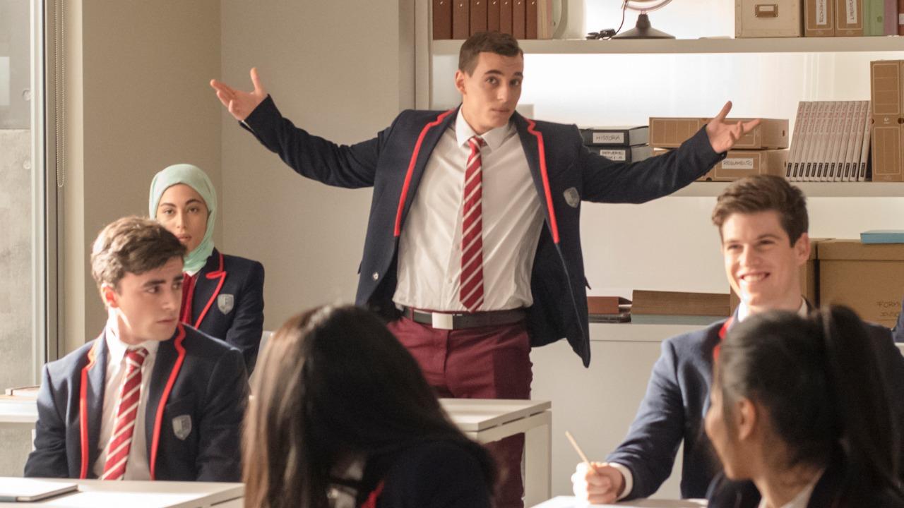 """Додека ги чекате новите епизоди од """"Casa De Papel"""" дружете се со омилените актери во хит серијата """"Elite"""""""