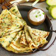 Рецепт за палачинки од тиквички со сланина и павлака