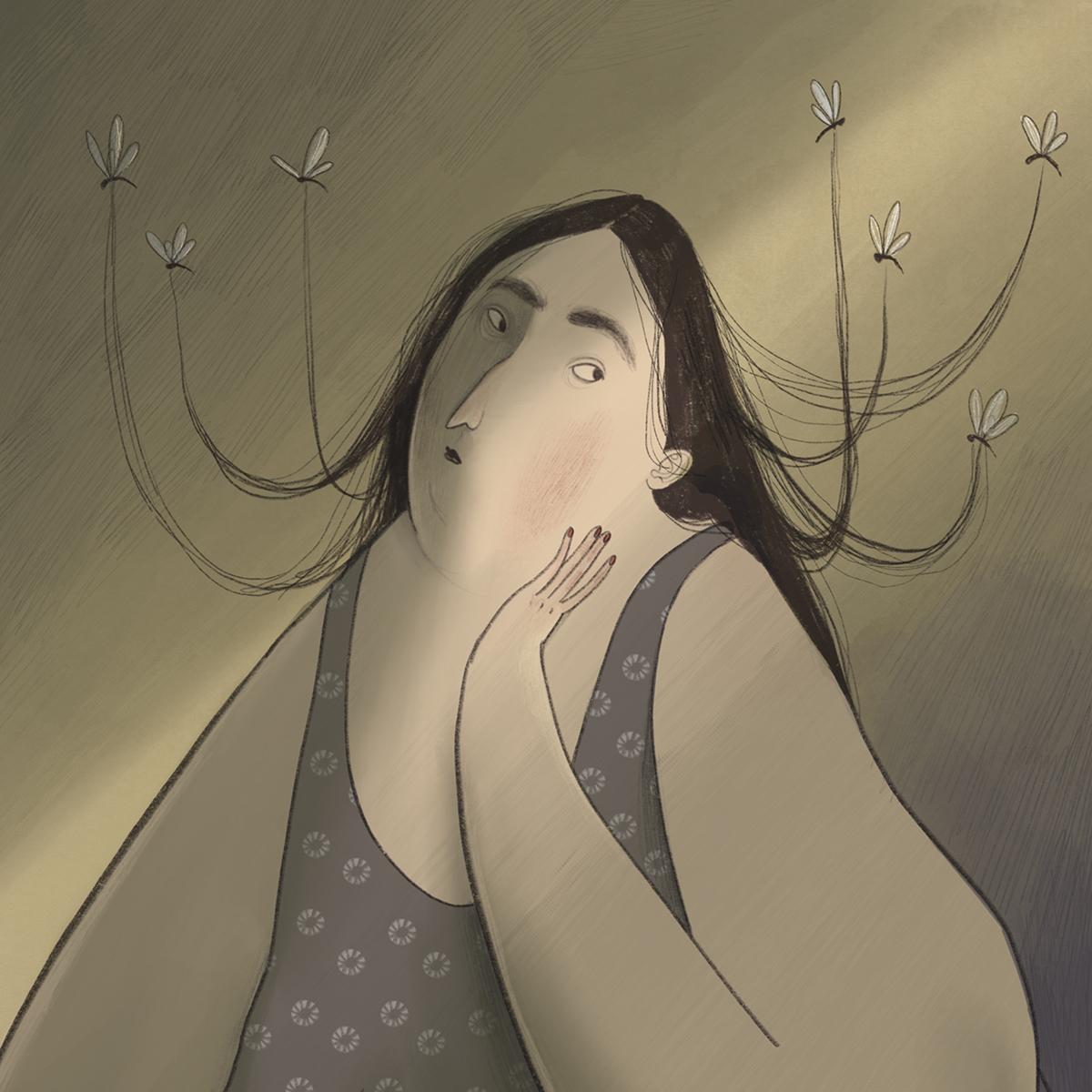 Илустрации кои ја прикажуваат убавината на несовршеноста