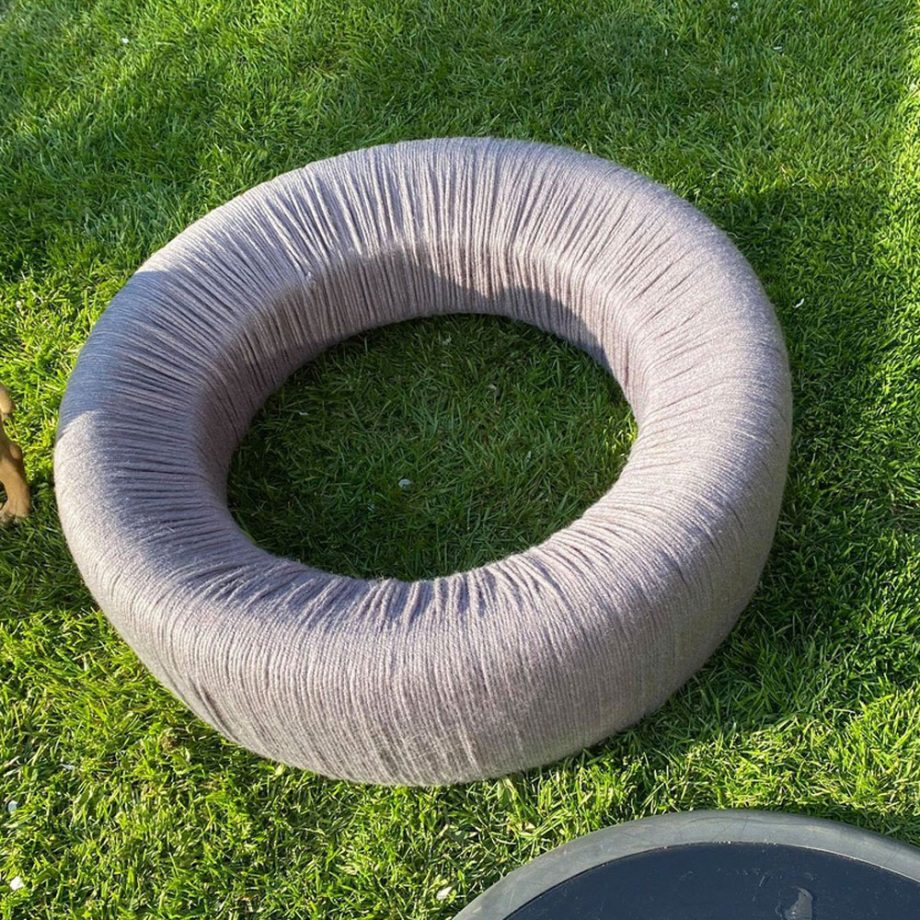 Како да направите мебел од стари гуми за вашиот двор?