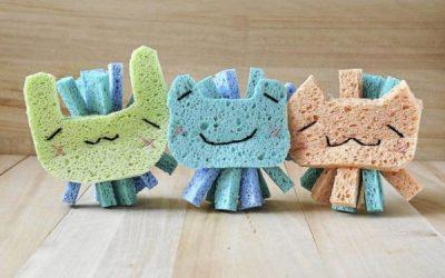 Како да направите интересни играчки од сунѓер за вашите деца?