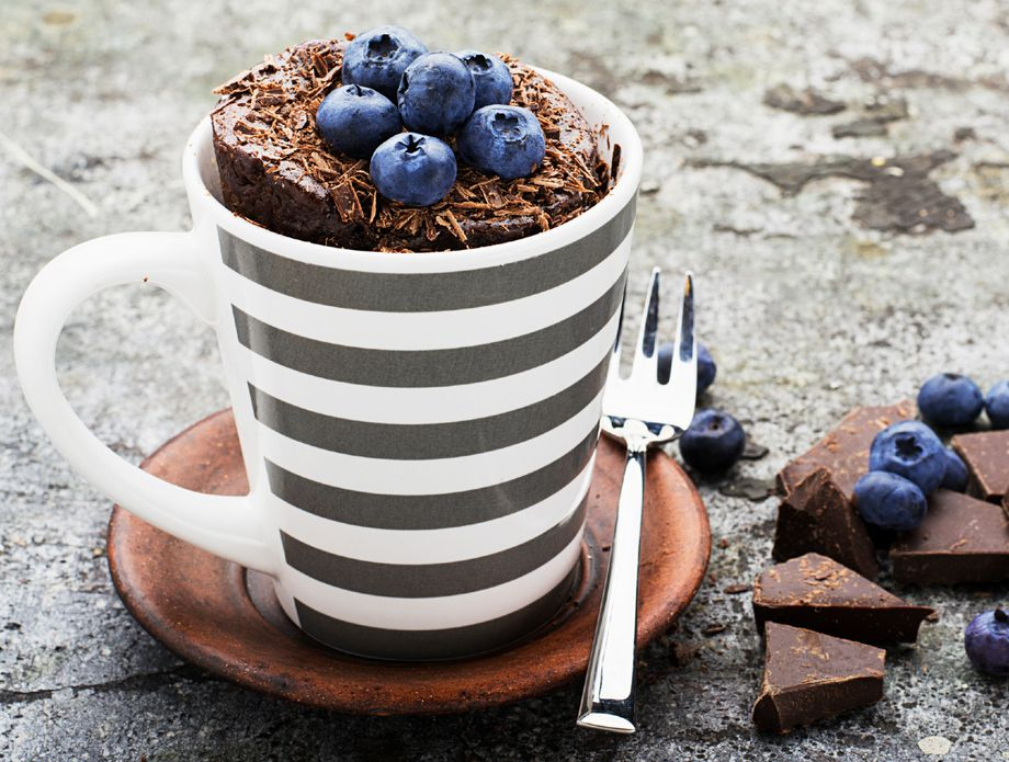 Чоколаден колач готов за 60 секунди