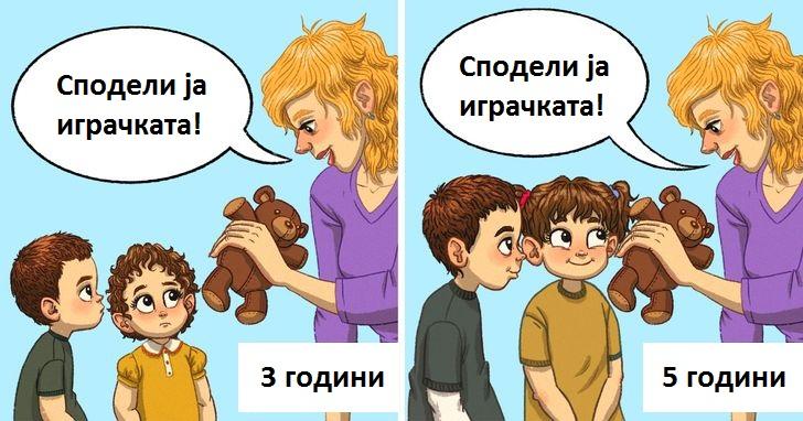 Зошто не треба да ги учите децата да споделуваат додека сè уште се мали?