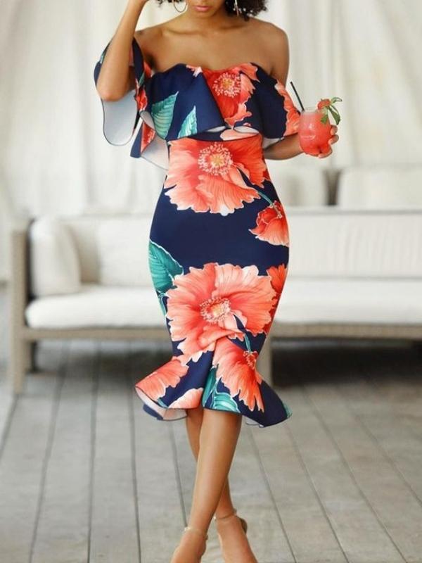 Најубавите и најромантичните цветни фустани за ова лето