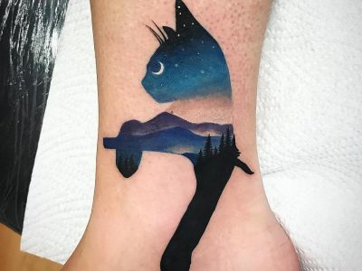 30 прекрасни тетоважи со мачки