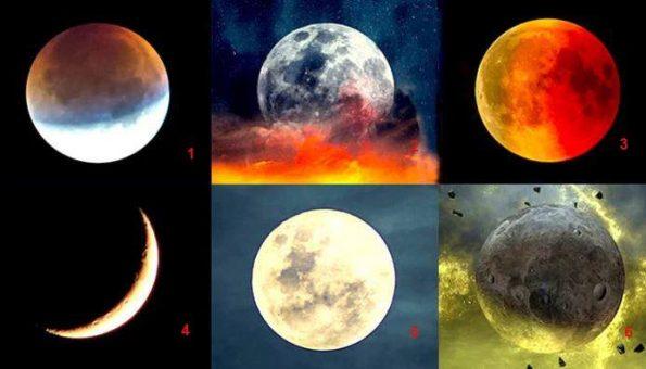 Тест: Изберете месечина и дознајте каква личност сте
