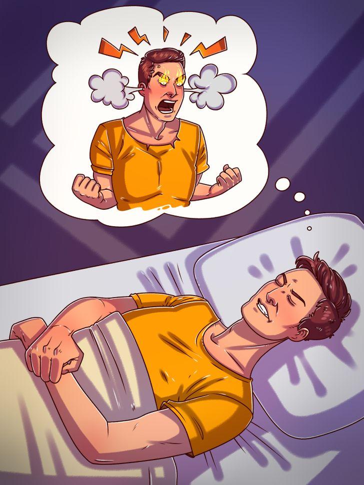 5 работи што може да ви се случат ако си легнете да спиете лути