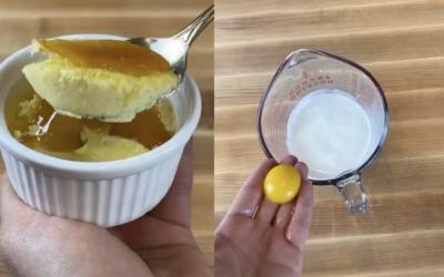 Корисник на Тик Ток објави едноставен рецепт за крем бруле кој мора да го пробате!