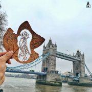 Погледнете ја оваа неверојатна уметност на лисја