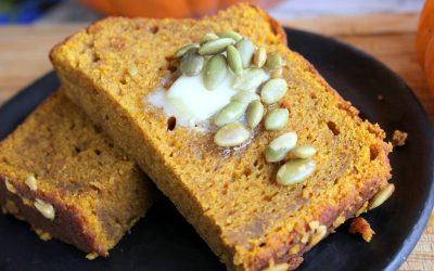 Рецепт за вкусен леб со тиква и глазура од кафе