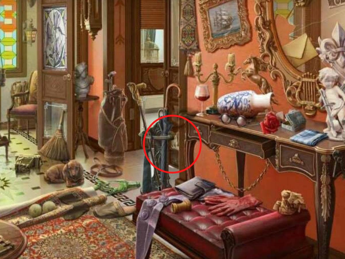 Дали можете да ја пронајдете мачката која се крие во оваа неуредна просторија?