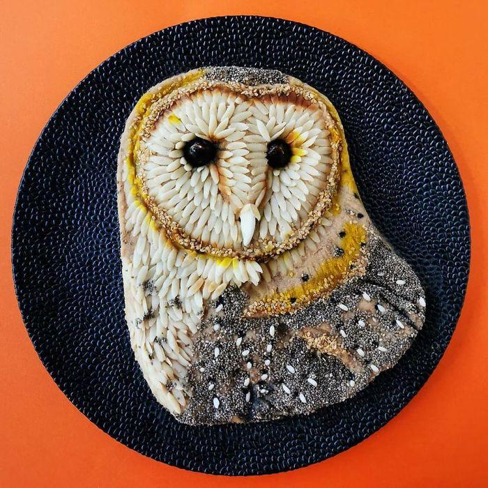 Мајка од Белгија создава уметност со храна и тоа изгледа навистина прекрасно
