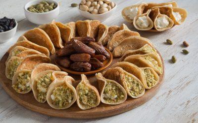 Рецепт за арапски палачинки со крем сирење