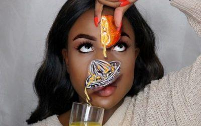 Самоука шминкерка создава неверојатни оптички илузии на нејзиното лице