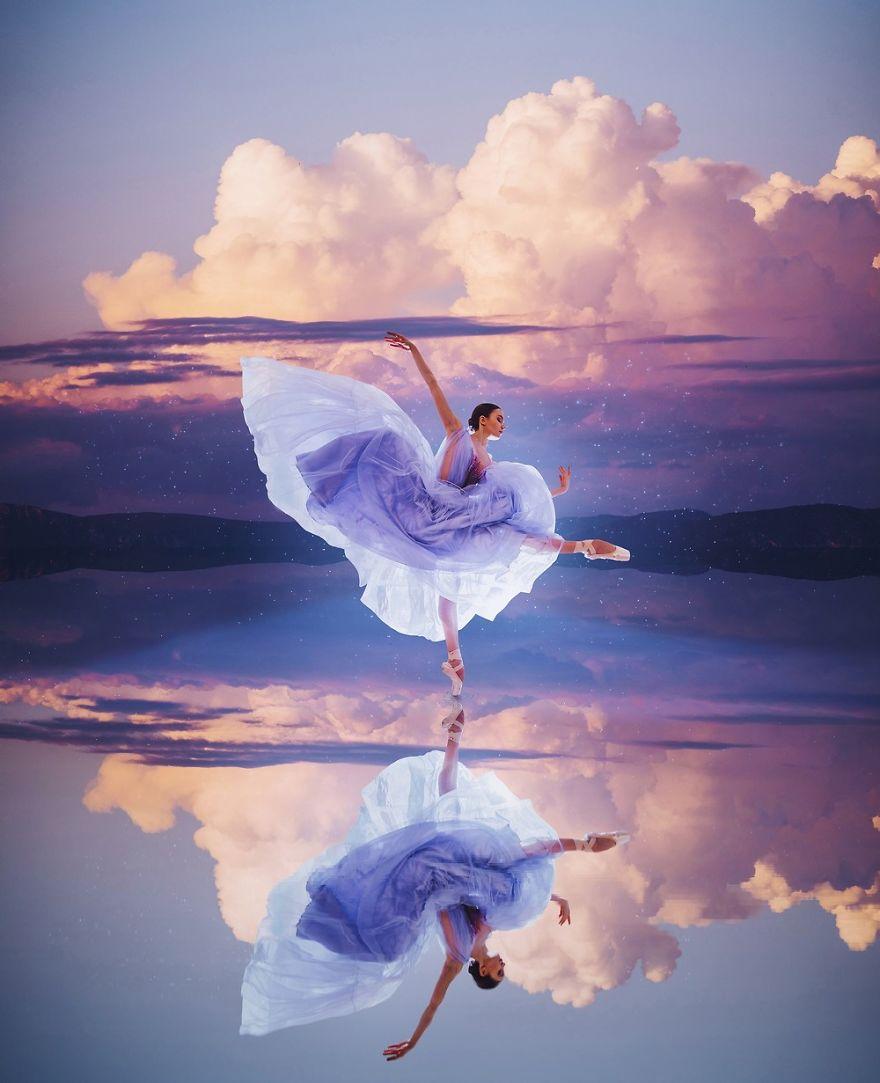 Магични фотографии од девојки кои танцуваат на прекрасни места низ целиот свет
