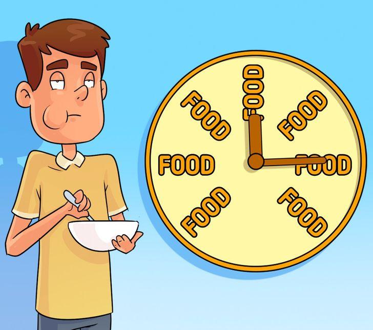 Зошто не треба да чекате да бидете гладни за да јадете?