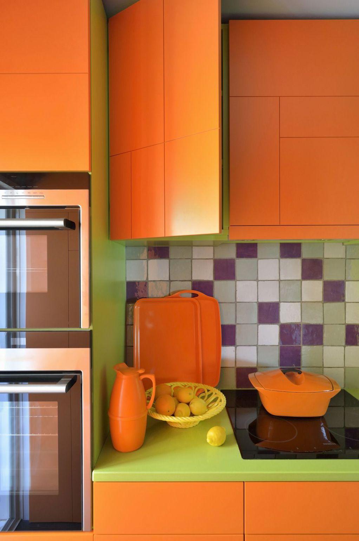 Кујни во боја во кои ќе се вљубите