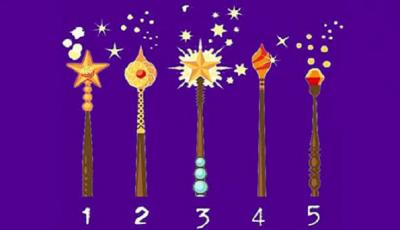 Изберете го магичното стапче што најмногу ве привлекува и откријте ги тајните на вашиот карактер