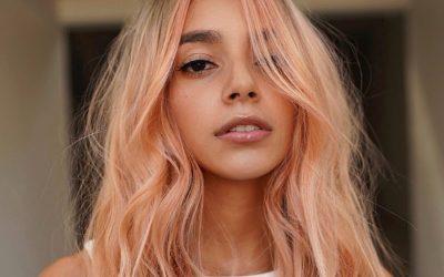 Коса во боја на праска: Тренд што ќе ги натера жените да се одлучат за промена