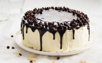 Мињон торта - богата торта со две глазури