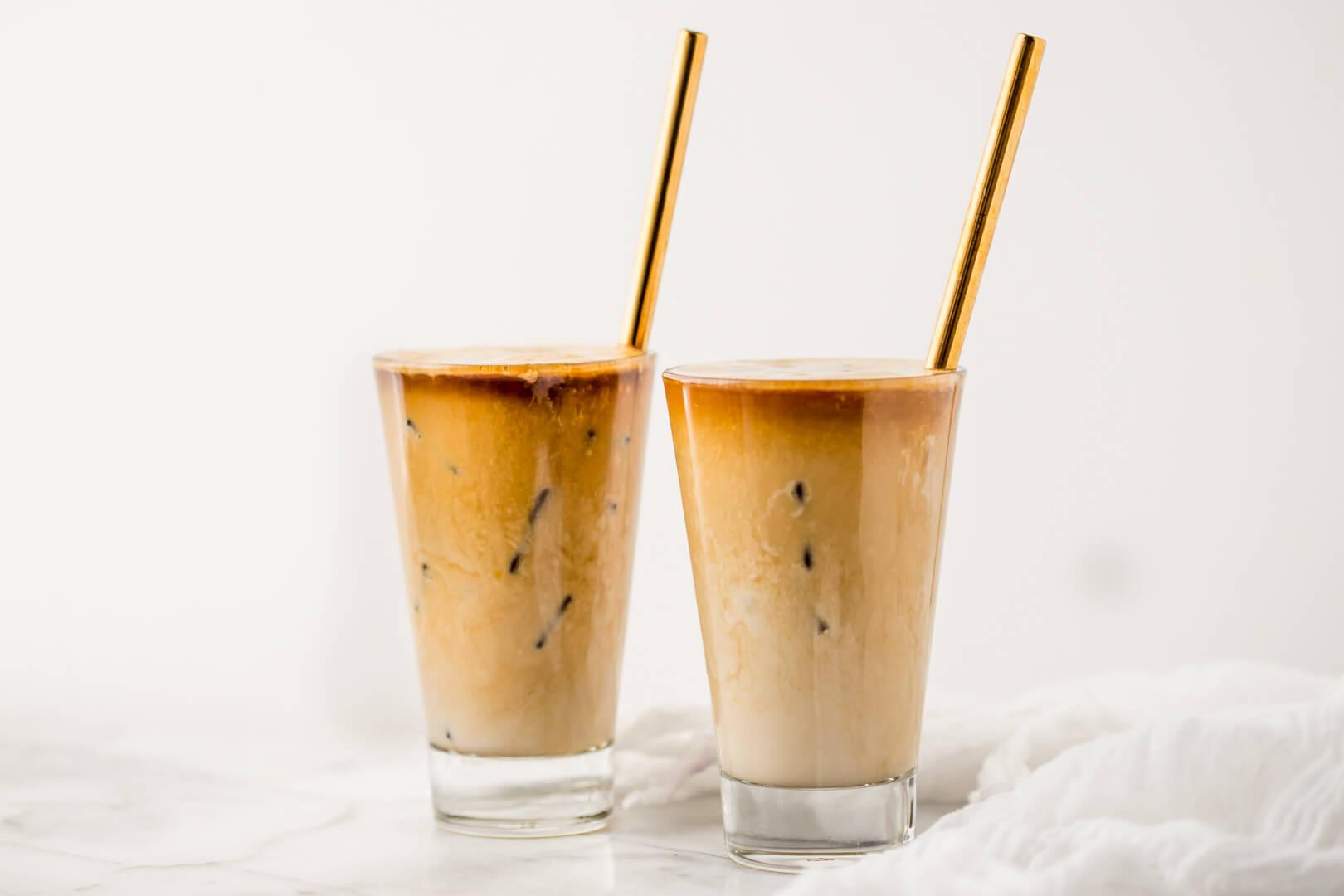 Рецепт за ледено кафе со путер